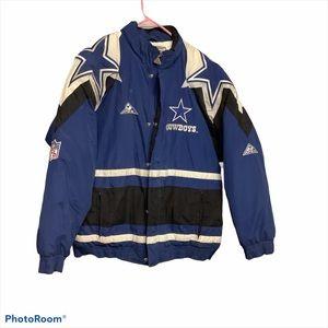 Vintage 90s Dallas Cowboys Apex Jacket NFL